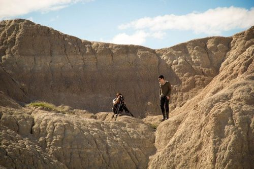 Isaac and Simon Badlands